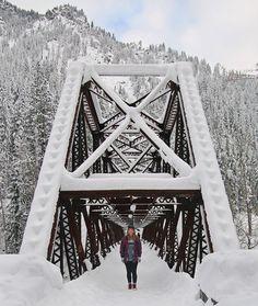 Penstock Trail near Leavenworth, WA