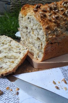 Bread Recipes, Cake Recipes, Cooking Recipes, Bread And Pastries, Food Cakes, Banana Bread, Clean Eating, Cookies, Baking