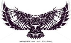 Flying Owl by Zealot Industries, via ShutterStock