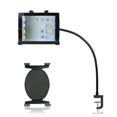BESTEK® Lengthened 34 Inches Gooseneck Seat Desk Bolt Clamp Mount with Two Bracket Holder for Ipad & All Tablet and Wide-Sreen Mobile Phones with 360 Degrees Easy-Adjust Bestek http://www.amazon.com/dp/B00A86QWN0/ref=cm_sw_r_pi_dp_hidhvb08GYJA0