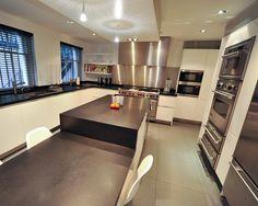 #Porcelain #tiling to high end #kitchen