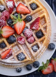 Whipped Chocolate Ganache Frosting | Lauren's Latest Easy Belgian Waffle Recipe, Easy Waffle Recipe, French Toast Waffles, Belgian Waffles, Cheesecake Recipes, Cookie Recipes, Dessert Recipes, Crepe Recipes, Other Recipes