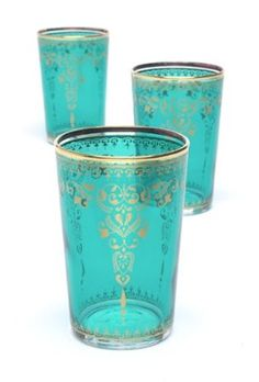 Amazon.com: Morjana (Set of 6) Aquamarine: Home & Kitchen