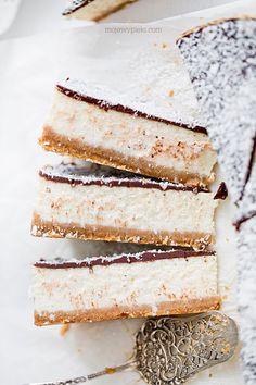 Sernik potrójnie kokosowy Coconut Cheesecake, Cheesecake Recipes, Cake Craft, Food Cakes, Cheesecakes, Vanilla Cake, Sweet Tooth, Sweets, Bread