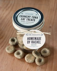 Crunchy Tuna Cat Treats Recipe   POPSUGAR Pets