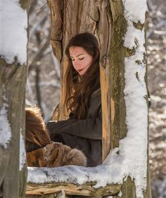 """""""Stealing Beauty"""" A winter portrait of two girls by Tony Filson Photography New York City"""