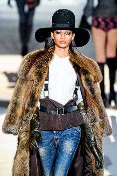 Dsquared² Fur collection
