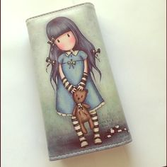 Adorable wallet Very cute girl holding a bear wallet Lots of space new in package Bags Wallets