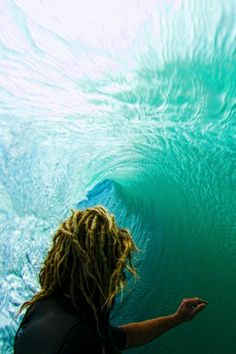 @David O'Hara look it's dreads and surfing...it's the best of both worlds!! :D Haha
