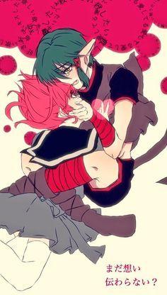 Tokyo Mew Mew Kisshu x Ichigo