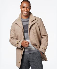 Big & Tall Dockers Open-Bottom Car Coat | Mens Big And Tall Coats ...