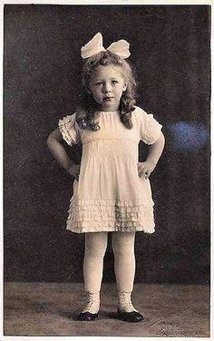 "A 1900's Cutie-Patootie - ""My mind's made up.`"