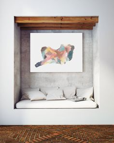 Abstract Painting Longing by Jules Tillman Fine by JulesTillman