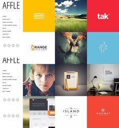 Affle from Mojo Themes - a beautiful wordpress theme. Best Wordpress Themes, Blog, Free, Beautiful