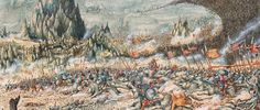 Nord's Painting Saga: Lumme, I shrunk the figs! Warhammer Figures, Warhammer Art, Warhammer Fantasy, Tolkien Books, Battle Of Waterloo, Fantasy Illustration, Illustrations, Middle Earth, Lord Of The Rings