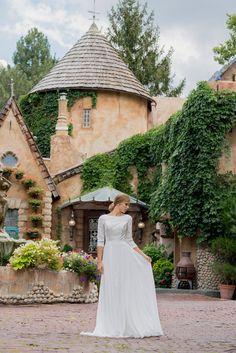 #Modestwedding dress