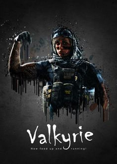 "Rainbow Six Siege Characters Valkyrie #Displate artwork by artist ""TraXim"". Part of a 35-piece set featuring artwork based on characters from the popular Rainbow Six video game. £37 / $49 per poster (Regular size), £74 / $98 per poster (Large size) #RainbowSix #RainbowSixSiege #TomClancy #TomClancysRainbowSix #Rainbow6 #Rainbow6Siege #TomClancysRainbow6 #Ubisoft"