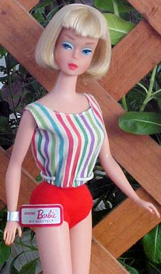 American Girl Barbie, this swimsuit version was available in Japan and Europe.