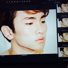I love Key's face, it's perfect, and btw, I never ever thought, that Key has freckles, but it's cute c: