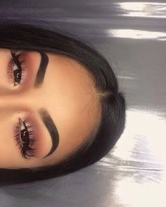 Eye Makeup Tips – How To Apply Eyeliner – Makeup Design Ideas Makeup On Fleek, Kiss Makeup, Prom Makeup, Cute Makeup, Pretty Makeup, Hair Makeup, Makeup Eyebrows, Eyebrows Grow, Eyebrow Makeup