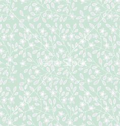 Background with floral pattern vector spring flowers by roman4 on VectorStock®