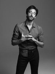 """ "" Adrien Brody by Georges Antoni, The Guardian UK March 2014 "" "" Adrien Brody, Famous Men, Famous Faces, Famous People, Guardian Uk, Charming Man, Raining Men, Attractive Men, Best Actor"