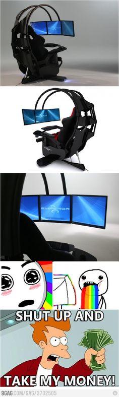 A Gamer's EPIC Computer Setup!