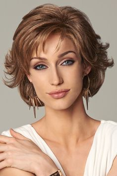 Everyday Elegant by Eva Gabor Wigs - Monofilament, Lace Front Wig