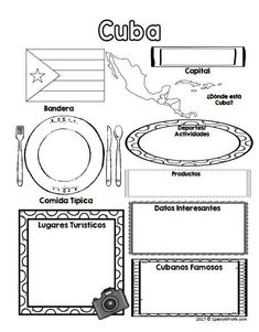Country infographics for Spanish class, social studies or world studies classes. This resource is Bilingual and comes in Spanish and English. Great for students learning Spanish and want to learn more about Spanish speaking countries and their culture in Spanish Lessons For Kids, Spanish Basics, Spanish Teaching Resources, Spanish Activities, Spanish Language Learning, Learn A New Language, Foreign Language, Dual Language, Learning Activities