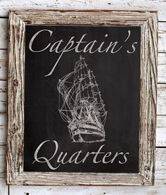 Hey, I found this really awesome Etsy listing at https://www.etsy.com/listing/193149056/sailing-ship-8x10-man-cave-sign-captains