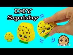 DIY Squishy Shopkins Season 1 Kooky Cookie Inspired Craft Do It Yourself - CookieSwirlC Video - YouTube