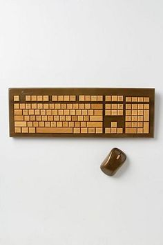 Bamboo Keyboard & Mouse - Anthropologie