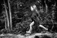 """I love seeing her carefree running and look of pure happiness. by Photographer Alain Laboile, from the series """"La Famille"""""""