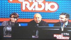 Il Presidente Renato sabbi a Punto Radio a parlare del portico che porta a San Luca