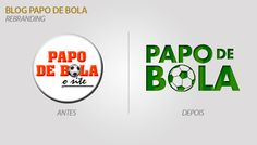 Rebranding - Papo de Bola (2017)