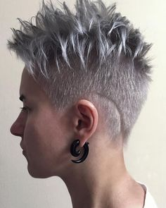 From @broneumka 💕 Pixie, Hoop Earrings, Jewelry, Fashion, Haircuts, Hair, Moda, Jewlery, Bijoux
