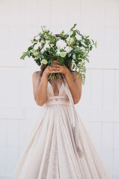 Modern Farmhouse Wedding Inspiration by Alexandra Wallace and A Lovely Creative