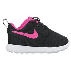 official photos 91e9f bc13d Toddler Nike Shoes, Black Pink, Roshe One, Nike Dunks, Girls, Black