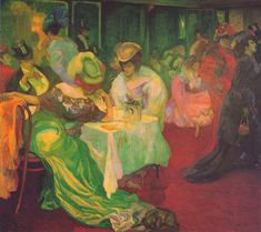 Axel Törneman - Night Cafe II 1906