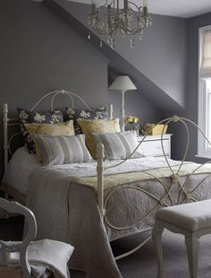 choose a soft grey bedroom colour scheme - Gray Color Schemes For Bedrooms