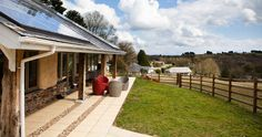 Bosinver luxury farm cottages in Cornwall