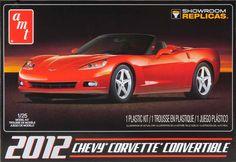 AMT 1/25 '12 Chevy Corvette Convertible