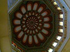 Roof view of Thirumalai Nayakkar Mahaal - designed beautifully.