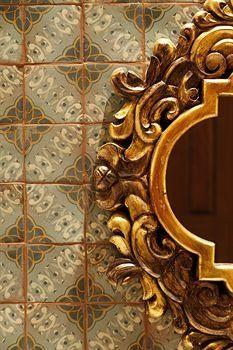 tabarka studios tile   visit tabarkastudio com ***guest bathroom behind mirror***perfect