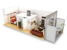 We feature 50 studio apartment plans in perspective. For those looking for small space apartment plans, your search ends here. Studio Apartment Furniture, Studio Apartment Floor Plans, Studio Floor Plans, Studio Apartment Layout, Apartment Plans, House Floor Plans, Modular Home Plans, Modular Homes, Plan Studio