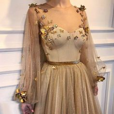 Love this dress. Not the color or the added adornments.