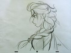 kioewen: New Elsa Drawing by Disney Artist Jin Kim Well known for the many captivating Elsa sketches that were later collected into a peren. Disney Sketches, Disney Drawings, Art Sketches, Art Drawings, Disney Animation, Vector Animation, Animation Studios, Elsa Drawing, Frozen Art