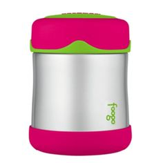 Thermos Foogo® Stainless Steel, Vacuum Insulated Food Jar - Watermelon/Green - 10 oz.
