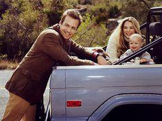 gabriel macht & jacinda barrett, wife & daughter...