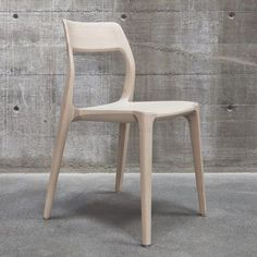 Swedish design consultancy Veryday picked up a Gold Award at the iF Design Awards last week for this wooden chair created for an art and design centre in Stockholm. #Scandinavian